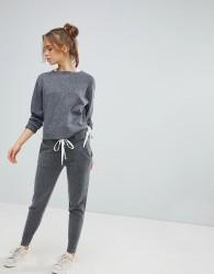Micha Lounge Tie Detail Jogger - Grey