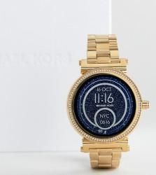 Michael Kors Access MKT5021 Sofie Bracelet Smart Watch In Gold - Gold