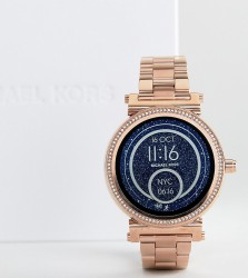 Michael Kors Access MKT5022 Sofie Bracelet Smart Watch In Rose Gold - Gold