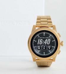 Michael Kors Access MKT5026 Grayson Bracelet Smart Watch In Gold - Gold