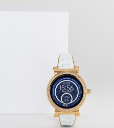 Michael Kors Access MKT5039 Sofie Bracelet Display Smart Watch In White 42mm - White