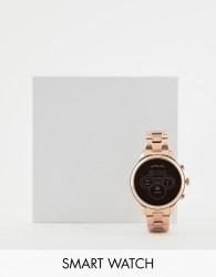 Michael Kors Access MKT5046 Runway rose gold smartwatch - Gold