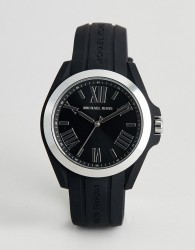 Michael Kors MK2729 Bradshaw Watch with Silicone Strap - Black