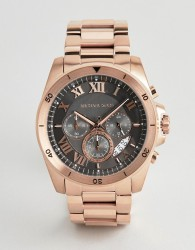 Michael Kors MK8563 Men's Chronograph Stainless Steel Watch - Pink
