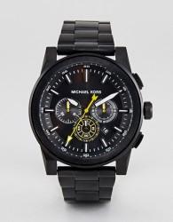 Michael Kors MK8600 Grayson Bracelet Watch In Black 44mm - Black