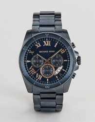 Michael Kors MK8610 mens stainless steel watch with blue dial - Navy