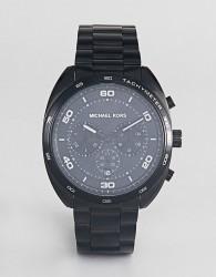 Michael Kors MK8615 Dane Chronograph Bracelet Watch - Black