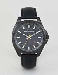 Michael Kors MK8632 Bryson Leather Watch 42mm - Black