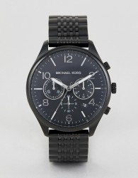 Michael Kors MK8640 Merrick Chronograph Bracelet Watch in Black - Black