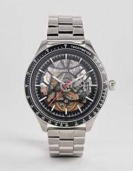 Michael Kors MK9037 Merrick Automatic Bracelet Watch 42mm - Silver
