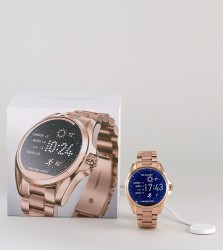Michael Kors MKT5004 Access Rose Gold Bradshaw Smart Watch - Gold