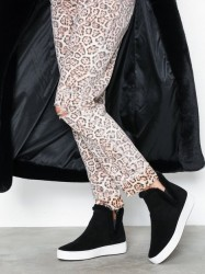 Michael Michael Kors Ashlyn Slip On Boots Sort