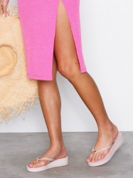 Michael Michael Kors Bedford Flip Flop Stripe Flip-Flops Soft Pink