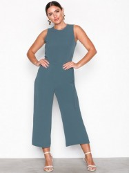 Michael Michael Kors D Ring Belt Jumpsuit Jumpsuits Chambray