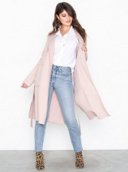 Michael Michael Kors Db Wool Belted Coat Frakker Blush