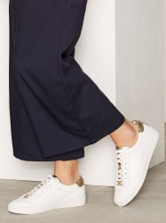 Michael Michael Kors Irving Lace Up Low Top Guld