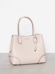 Michael Michael Kors Mercer Gallery Md Center Zip Tote Håndtaske Rosa/Lyserød