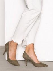 Michael Michael Kors MK-Flex Mid Pump High Heel Olive