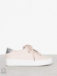 Michael Michael Kors Poppy Lace Up Low Top Soft Pink