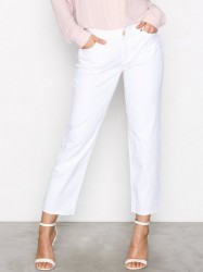 Michael Michael Kors Released Hem Straight Pant Straight White