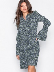 Michael Michael Kors Smocked Slv Shirt Dr Loose fit dresses
