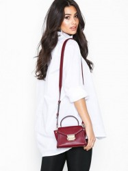 Michael Michael Kors Whitney Mini Messenger Håndtaske Maroon