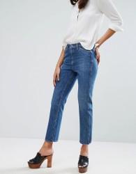 M.i.h Jeans Mid Rise Straight Leg Crop Cult Jean - Blue
