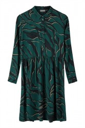 Minimum - Kjole - Bindie Dress - Darkest Spruce Leaves