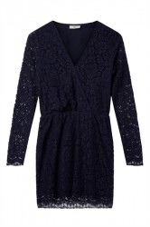 Køb Minimum Kjole Stribsa Dress Navy Blazer her