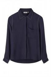 Minimum - Skjorte - Malaga Shirts - Navy Blazer