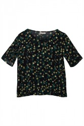 Minimum - T-shirt - Elvire - Black