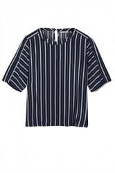 Minimum - T-shirt - Ziva - Navy Blazer