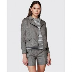 Minimum Teela Grey Melange Jacket (LYSEGRÅ, 38)