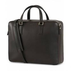 Mismo Morris Leather Briefcase Black