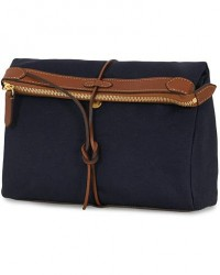 Mismo M/S Carry Washbag Midnight Blue/Cuoio men One size Blå