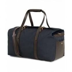 Mismo M/S Supply Weekend Bag Navy/Dark Brown