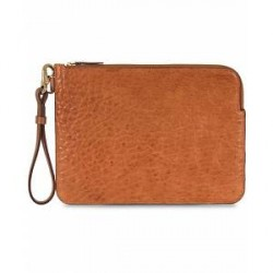 Mismo Tuscan Leather Pouch Tabac