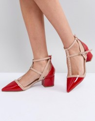 Miss KG Averie Heeled Shoes - Red