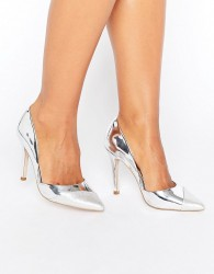 Miss KG Caitlyn Contrast Court - Silver