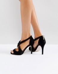 Miss KG Crossover Stiletto Sandal - Black