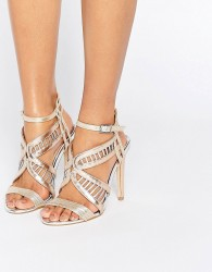 Miss KG Fox Metallic Heeled Sandals - Multi