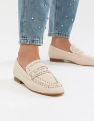 Miss KG Kathy Studded Flat Shoes - Beige