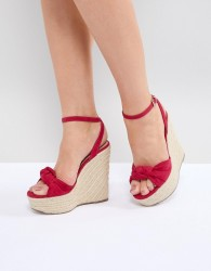 Miss KG Piper Wedge Sandals - Pink