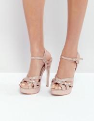 Miss KG Platform Sandal - Copper