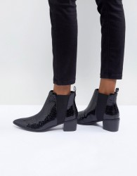 Miss KG Sharpe Heeled Boots - Black