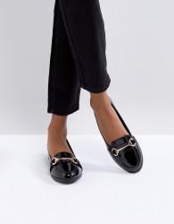 Miss KG Snaffle Flat Loafer - Black