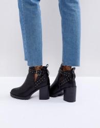 Miss KG Taffy Studded Heeled Ankle Boots - Black
