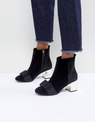 Miss KG Talisa Bow Boots - Black