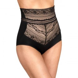 Miss Mary of Sweden Miss Mary Lace Vision High Waist Panty Girdle - Black * Kampagne *