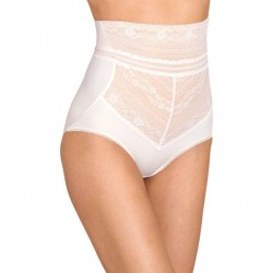 Miss Mary of Sweden Miss Mary Lace Vision High Waist Panty Girdle - White * Kampagne *